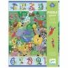 Kép 2/2 - Megfigyeltető puzzle - Dzsungelben 1-10-ig, 54 db-os - 1 to 10 Jungle