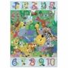 Kép 1/2 - Megfigyeltető puzzle - Dzsungelben 1-10-ig, 54 db-os - 1 to 10 Jungle