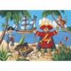 Kép 2/2 - Formadobozos puzzle - Kalózok kincse - The pirate and his treasure