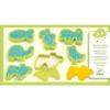 Kép 1/2 - Gyurmaformázó készlet - 6 press moulds and 6 stamps pet animals