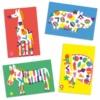 Kép 3/3 - Kreatív matricázó - Nagy állatok - Large animals
