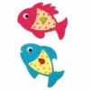 Kép 2/2 - KREATÍV MATRICÁZÓ KÉPKÉSZÍTÉS - I love fishes