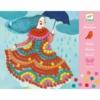 Kép 1/2 - Mozaik készítő - Színes ruhák - Party dresses
