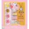 Kép 2/4 - Ékszerkészító készlet - Gyöngyök és virágok - Pearls and flowers