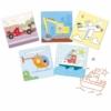 Kép 2/2 - Rajzsablonok - Járművek és társaik - Transports & co