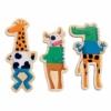 Kép 2/3 - Mágneses képkirakó - Vicces állatok - Crazy animals