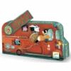 Kép 1/2 - Mini puzzle - A tűzoltóautó - The fire truck