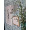 Kép 2/2 - Fali lámpa elefánt pasztell szürke Jabadabado