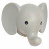 Kép 1/2 - Fali lámpa elefánt pasztell szürke Jabadabado