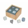Kép 2/2 - Fa játék formabedobó kék