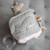 Kép 8/8 - Little Dutch plüss készségfejlesztő kocka tengeri állatok menta