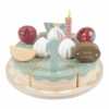Kép 1/7 - Little Dutch fa játék szülinapi torta XL
