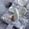 Kép 4/7 - Little Dutch plüss babakönyv tengeri állatos kék