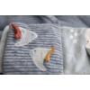 Kép 2/7 - Little Dutch plüss babakönyv tengeri állatos kék