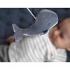 Kép 6/9 - Little Dutch zenélő körforgó natúr fa vázzal tengeri állatos kék