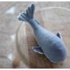Kép 6/8 - Little Dutch plüss játék bálna kék 25 cm