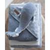 Kép 7/8 - Little Dutch plüss játék bálna kék 25 cm