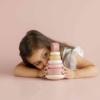 Kép 8/10 - Little Dutch montessori torony - pink