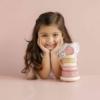 Kép 9/10 - Little Dutch montessori torony - pink