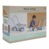 Kép 11/11 - Little Dutch fa járássegítő kocsi - kék