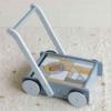Kép 6/11 - Little Dutch fa járássegítő kocsi - kék