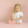 Kép 3/8 - Little Dutch pink fa formabedobó kocka