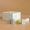 Kép 6/7 - Little Dutch olívazöld fa formabedobó kocka