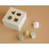Kép 2/7 - Little Dutch olívazöld fa formabedobó kocka