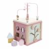 Kép 1/8 - Little Dutch készségfejlesztő kocka - pink