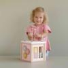 Kép 8/8 - Little Dutch készségfejlesztő kocka - pink