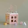 Kép 5/8 - Little Dutch készségfejlesztő kocka - pink
