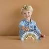 Kép 6/9 - Little Dutch szivárvány építő - kék