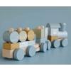 Kép 2/10 - Little Dutch vonat fából - kék
