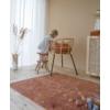 Kép 6/6 - Rozsdaszínű pöttyös, 120x170 cm-es Little Dutch gyerekszőnyeg
