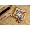 Kép 4/5 - Okker pöttyös, 120x170 cm-es Little Dutch gyerekszőnyeg