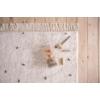 Kép 1/5 - Krém/olíva pöttyös, 120x170 cm-es Little Dutch gyerekszőnyeg
