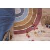 Kép 5/6 - Pure&Nature szivárványos, 130x80 cm-es Little Dutch gyerekszőnyeg