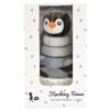 Kép 3/4 - Magni pingvines toronyépítő játék fából