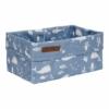 Kép 2/2 - Little Dutch tároló doboz óceán kék 25x15 cm
