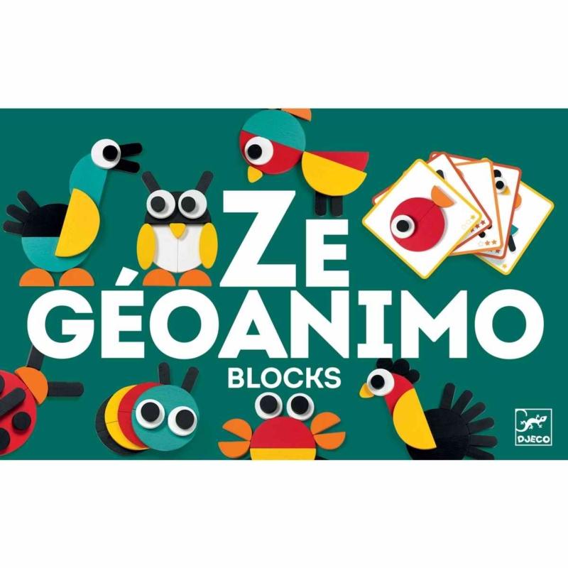 Képkirakó - Geometrikus állatképek - Ze Geoanimo