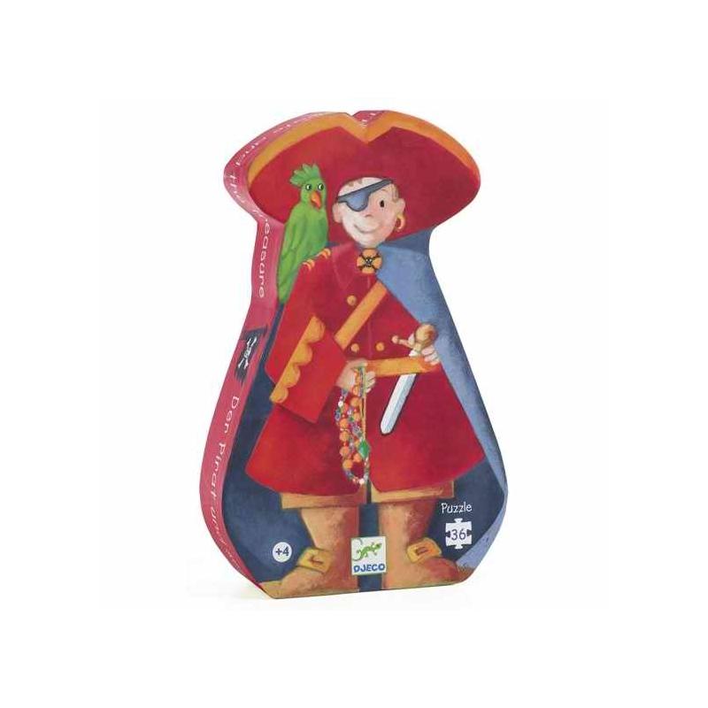 Formadobozos puzzle - Kalózok kincse - The pirate and his treasure