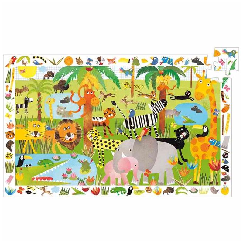Megfigyeltető puzzle - Dzsungel, 35 db-os - Jungle