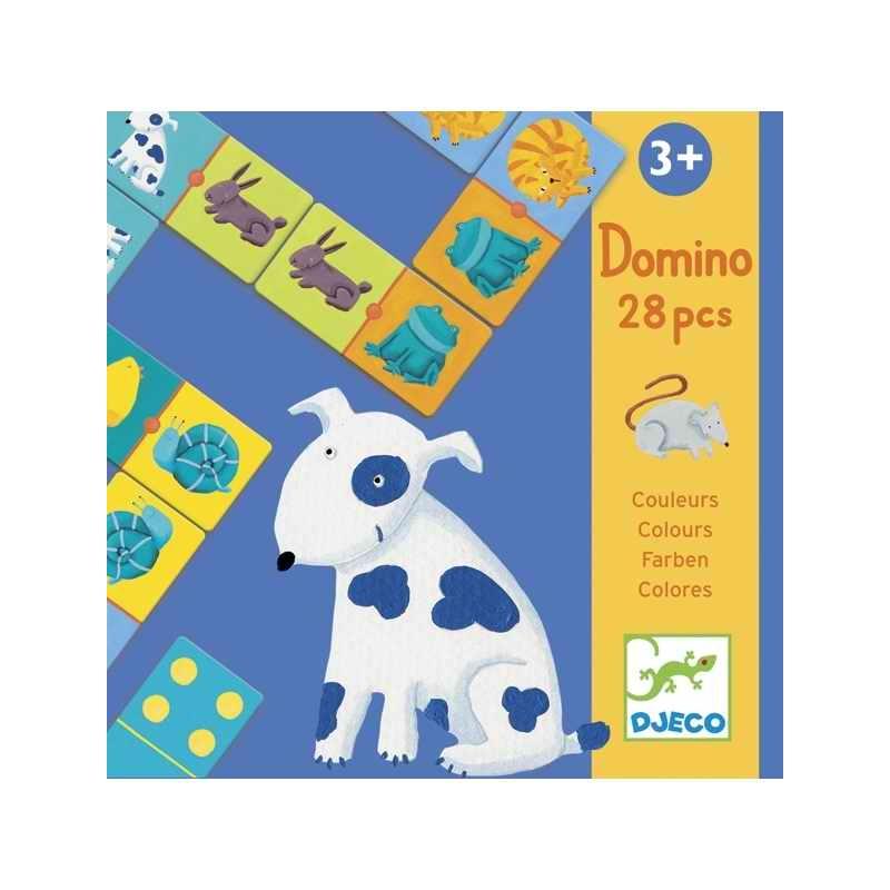 Domino - Színes állatok - Colour animals