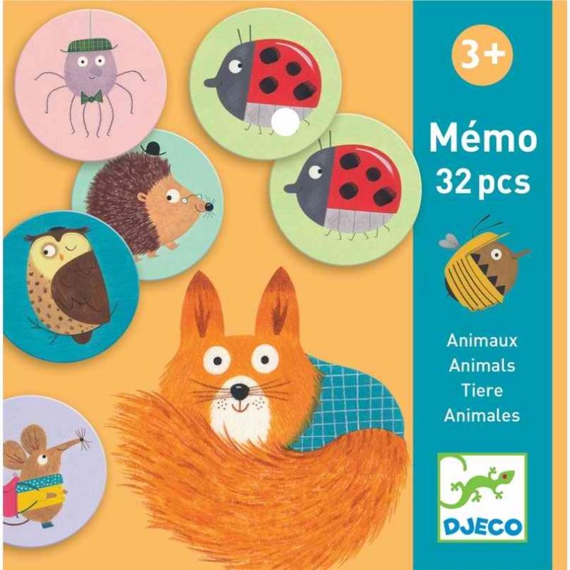 Memóriajáték - Állatok - Memo Animals