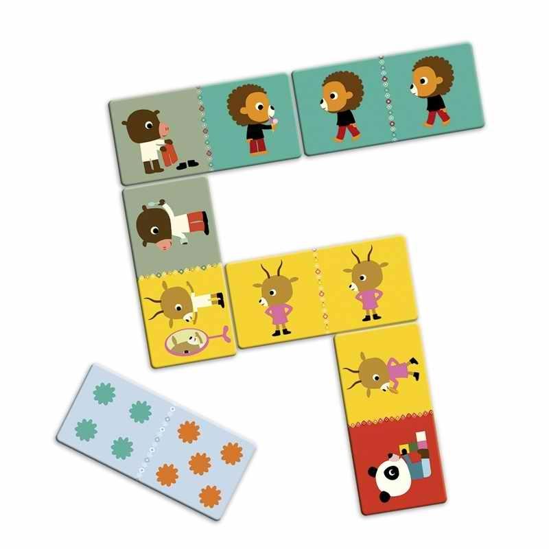 Óriás dominó - Barátok - Friends