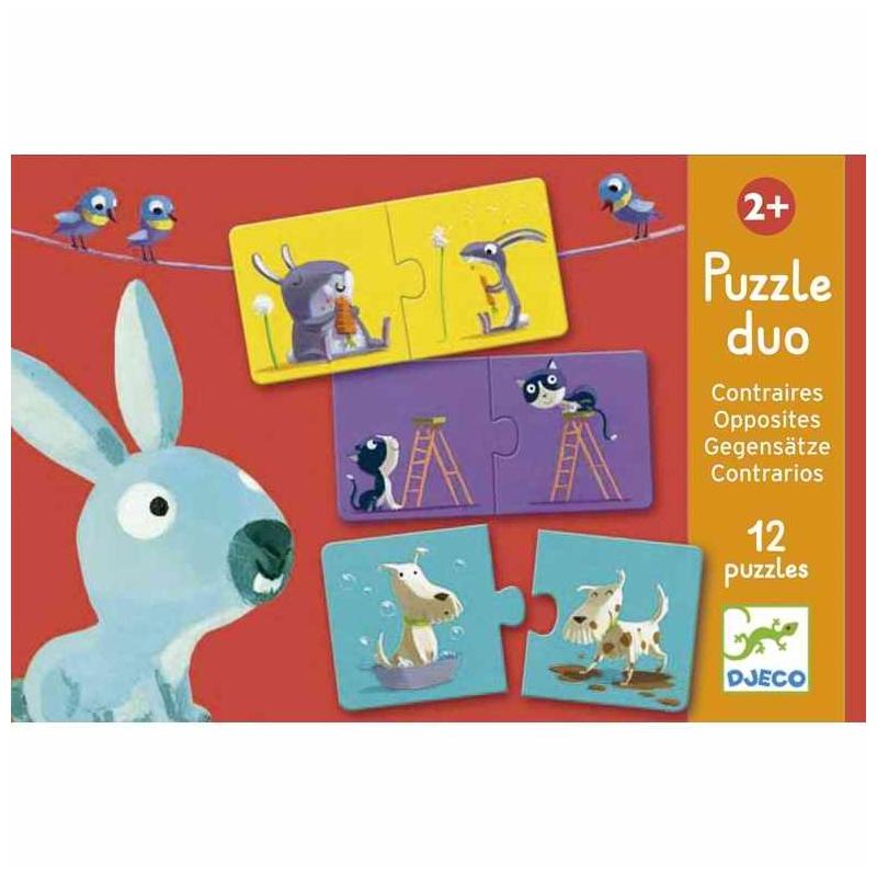 Párosító puzzle - Ellentétek - Opposites