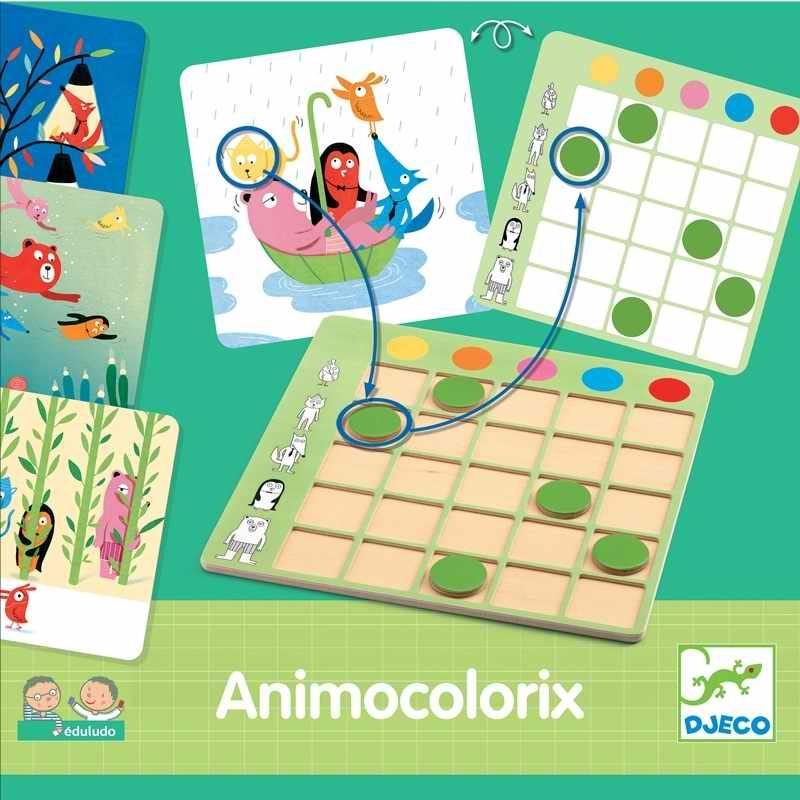 Fejlesztő játék - Színtaláló - Animo Colorix