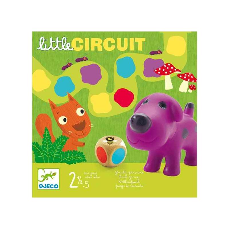 Társasjáték - Színlépegetős - Little circuit