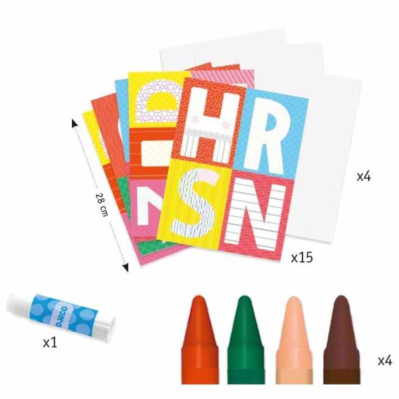 ABC kreatív színező - A world to create, letters