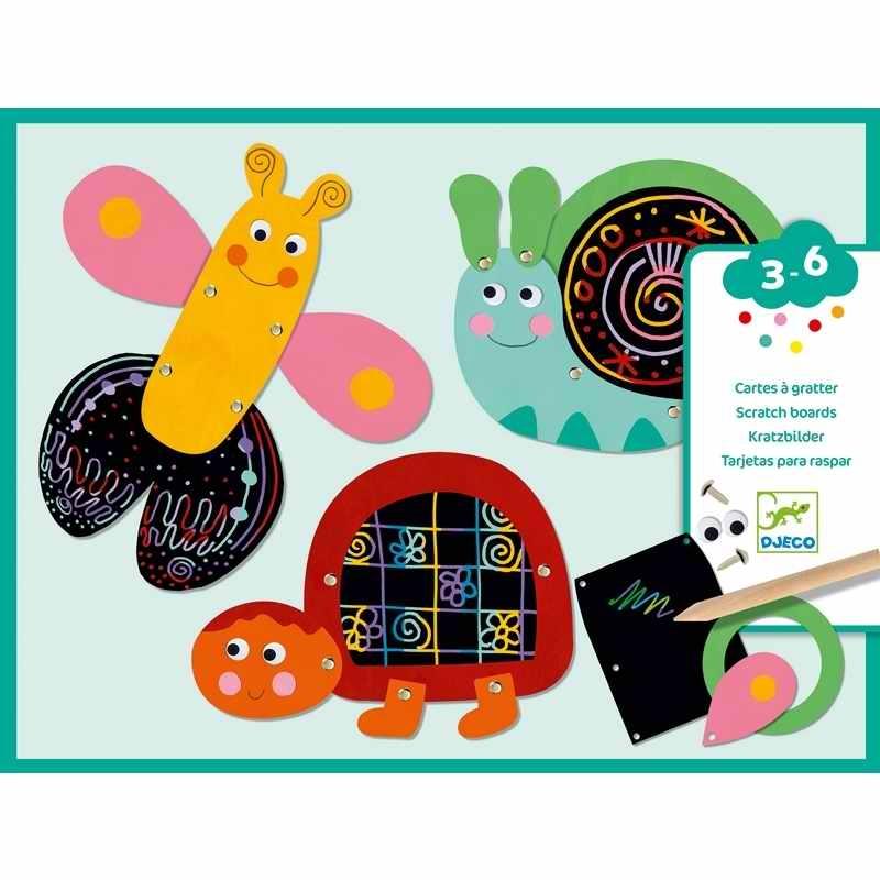 Karckép technika - Vicces állatok - Scratch the funny animals